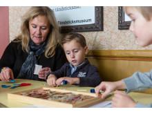 Pyssla med barnbarnen, Snus- och Tändsticksmuseum