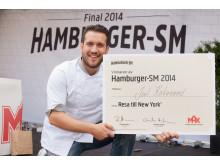 Joel Kakavand - Vinnare Hamburger-SM 2014