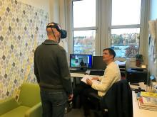 VR-teknik används för fobibehandling på Gustavsbergs vårdcentral