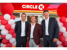 Åpning Circle K Økern 7