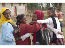 Tjejer i Etiopien
