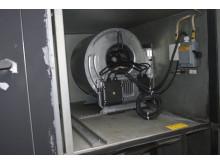 ventilationsaggregat på förskola moderniserades med aggregatfläkten RadiFit