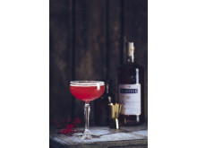 Cranberry Sidecar