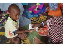 Underrnäringsbehandling i Niger