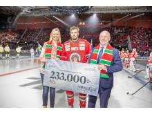 Bjurfors skänker 233.000 kronor till Drottning Silvias barn- och ungdomssjukhus
