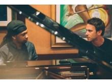 Studioaufnahmen mit Samuel Yirga und Clueso