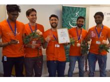 Vinnarteam ActinSpace - Gasltu