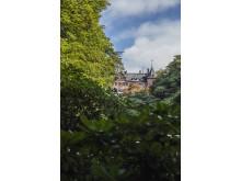 Slottet och ravinen