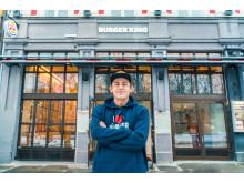 Hardi Askari. Driver Burger King Karl Johansgate 35. Foto: Hung Pham, MSL Group