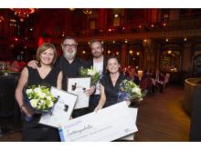 Vinnarbild från Insurance Awards 2015 Vinnare Ersättningskollen Årets Innovation