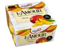 Yoplait l'Amour mango