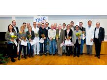 Forskare som fått medel från Nyckelfonden 2013