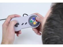 Retro SNES USB-kontroll