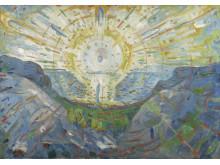 """Э. Мунк """"Солнце"""", 1912 год"""