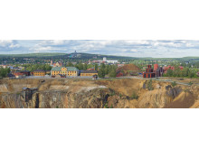 Vy över Stora Stöten och gruvområdet