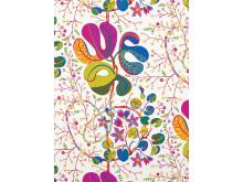 Textile print Teheran (white) by Josef Frank