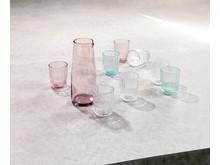 JYSK uutuudet keittiöön värillisestä lasista