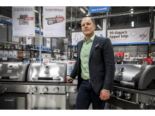 Henrik Ekelund, Sortiment  & Försäljningschef - Hem & Hushåll på NetOnNet     Foto: NetOnNet