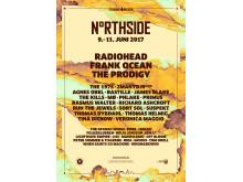 Her er NorthSide 2017-plakaten