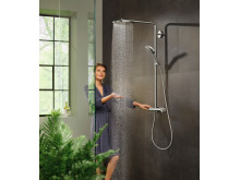 hansgrohe Raindance PowderRain Showerpipe