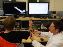 Prosthesis functionality is tested by the patient and Richard Brånemark