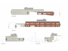 Fasad 4 sidor Bredbynskolan