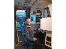 Southern Rail driver competency manager Richard Quinn who will be rowing for Cancer Research