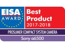 EISA Award Logo Sony a6500