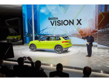 Bernhard Maier presenterar nya VISION X