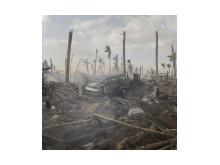 Förstörelse efter tyfonen Haiyan