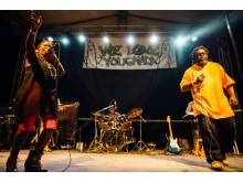 WE LOVE YOUGANDA: Lady Slyke from Uganda performing in Kampala at the #weloveyouganda festival