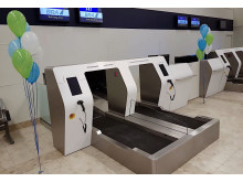 New bag drop system at Visby Airport