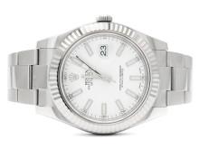 Klockor 31/5, Nr: 202, ROLEX, Oyster Perpetual, Datejust II, Chronometer, Ref nr. 116334