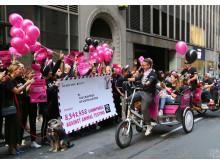 8.3 miljoner konsumenter vill se ett globalt förbud mot kosmetiska djurförsök. The Body Shop firar världens största upprop i ämnet med en hundparad på väg till FN i New York.