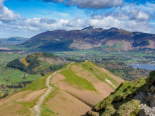 Ramblers Walking Holidays: Cat Bells Ridge, Lake District
