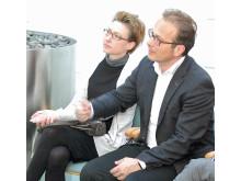 """Der Neusser Bürgermeister Reiner Breuer beim """"Digi-Forum"""" der Sparkasse Neuss"""