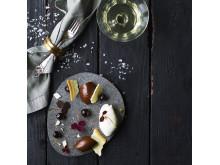 Flot Nytårsdessert med nougat, is og fragitilité