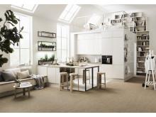 Köksön från Marbodals Svanenmärkta kök Arkitekt Plus Vit