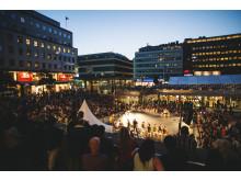 Stockholms Kulturfestival Sergels torg 2014