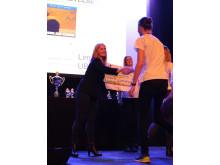 EnterCard gratulerer vinneren Limitless UB
