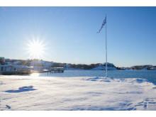Vinterdag på Gullmarsstrand
