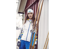 Falun XC jacket and pants, Falun race team headband