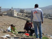 Syriska flyktingar i Libanon