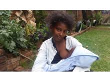 Mamma från Etiopien