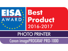 EUROPEAN PHOTO PRINTER 2016-2017 - Canon imagePROGRAF PRO-1000