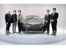 "Lexus LS 500 fick utmärkelsen ""2017 EyesOn Design Award for Design Excellence – Interior Design"" vid bilmässan i Detroit."