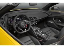 Audi R8 Spyder - interiør
