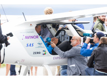 Norway's first electic-powered flight