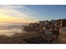 Fischerhafen Taghazoute bei Sonnenuntergang_Source NOSADE