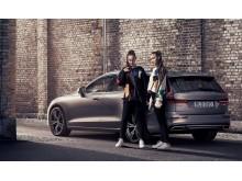 Volvo hyllar den nya familjen -Joel Kinnaman i nya reklamen för Volvo V60